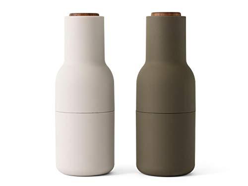 Menu 4415459 BottleGrinder - Salz-/Pfeffermühle Hunting Green/Beige Gewürzmühle