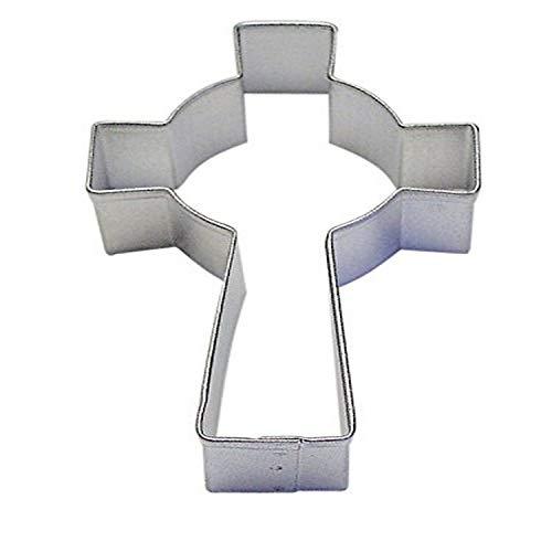 CybrTrayd R&M Celtic Cross 3.5' Cookie Cutter, Metallic