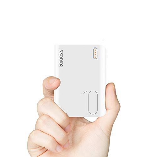 Romoss Powerbank 20000mAh met LED-batterijindicator, externe accu met 2 uitgangen voor de meeste smartphones, tablets en andere apparaten