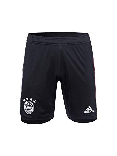 adidas FC Bayern Munchen Saison 2020/21 FCB Tr SHO Y Trainingsshorts für Kinder XL Schwarz/Rot FCB