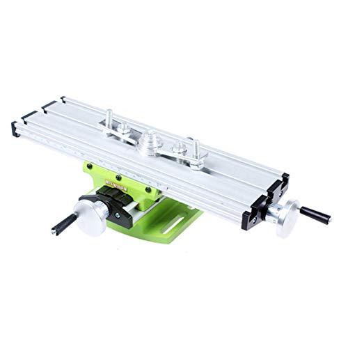 Fräsen Arbeitstischmaschine, Multifunktions Kreuztisch Bohrtisch, Fräsmaschine Verbundbohrschiebetisch für DIY Bankbohrer
