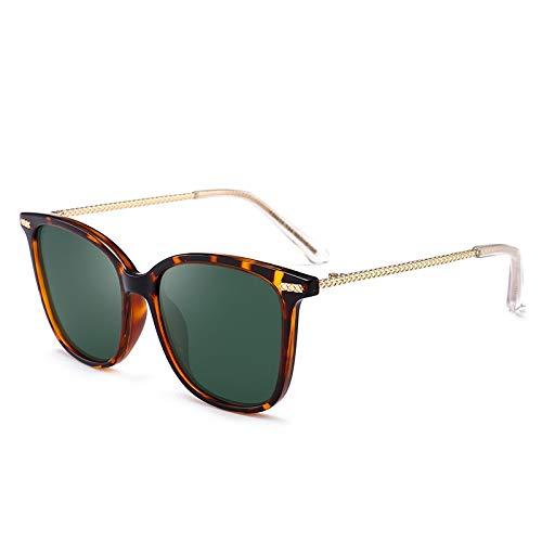 Gafas Caja de Madera del Grano de la Cuerda Diseño Gafas de Sol polarizadas (Color : NO.3)