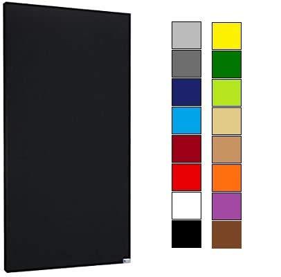 Panel de insonorización acústica, negro, 5 cm