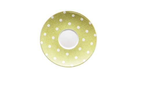 Hutschenreuther Lemon Ø 12 cm Espresso-Untertasse, Porzellan, Gelb, 12 x 12 x 1.5 cm