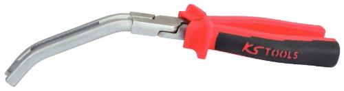 KS Tools 500.7310 Glühkerzenstecker-Zange, abgewinkelt, 235mm