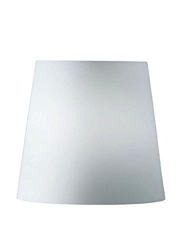 FontanaArte Ricambio Paralume Fontana Media 1853 Bianco, vetro soffiato opalino bianco