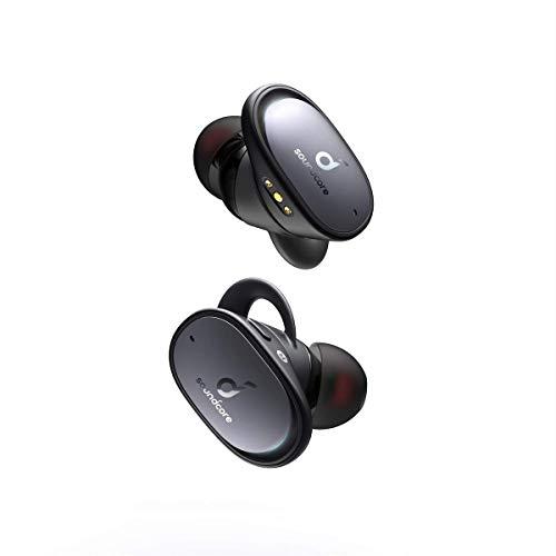 Anker Innovations Soundcore Liberty 2 Pro Cuffie Wireless True con Driver Diamond-Coated e 4 Microfoni, Nero