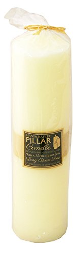 Extra Large 35cm 250 Hour Long Burn Church Pillar Candle ~ Cream Votive Candle