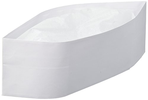 Winco DCH-3 Disposable Chef's Hat, 3-Inch
