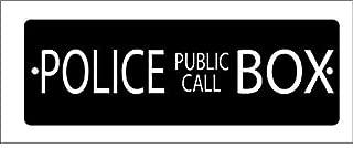 British Police Box Aluminum Sign- 4
