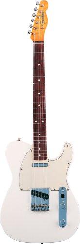Fenderフェンダークラシックシリーズ60'Sテレキャスター オリンピックホワイト Classic Series 60's Telecaster Electric Guitar, Rosewood Fingerboard - Olympic White[並行輸入]