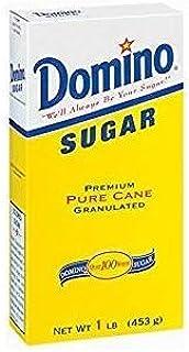 Domino Sugar Premium Pure Cane Granulated Non GMO 16 Oz. Pk Of 3.