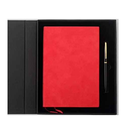 LWLEI Cuaderno, Diario, Cuaderno A5 Papelería de papelería Diario de papelería Reunión Reunión universitaria Familia Simple Diario Diario Diario (Color: Dorado Amarillo) Song (Color : Chinese Red)