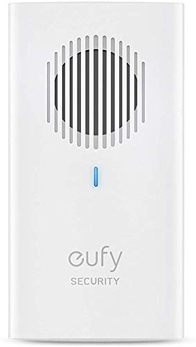 eufy Security Video Doorbell Chime, Add-on Chime, Requires eufy Security Video Doorbell 2K (Wired), Simultaneous Sound Ringtone, Adjustable Volume, 8 Fun Ringtones