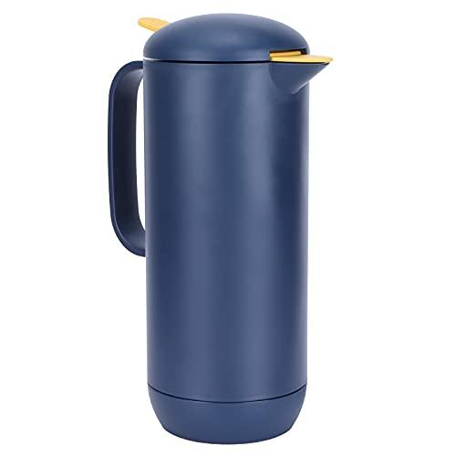 Jarra aislada, jarra de vacío de gran capacidad de 1L para el hogar para viajes(blue)