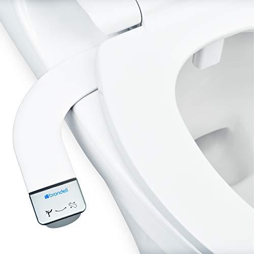 Brondell Bidet - Thinline SimpleSpa SS-150 Fresh Water Spray Non-Electric Bidet Toilet Attachment in...
