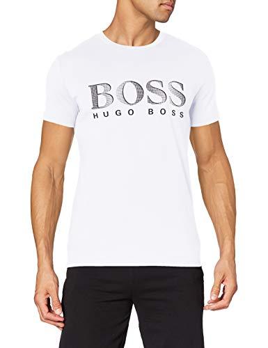 BOSS T-Shirt RN, Bianco (Natural107), XS Uomo