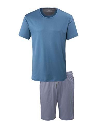 Calida Function Sense Kurz-Pyjama Herren, XL = 7, Nordic