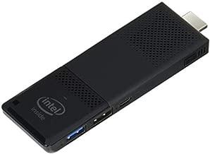 Intel Compute Stick CS125 Computer with Intel Atom x5 Processor and Windows 10 (BOXSTK1AW32SC),Black