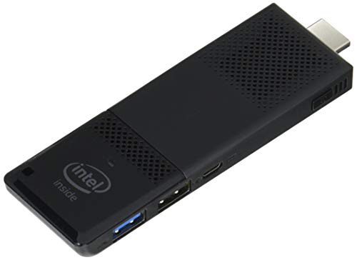 Intel BOXSTK1AW32SC Compute Stick Desktop PC (Intel Atom, GB Festplatte, 2GB RAM, Win 10 Home) schwarz