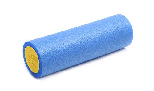 Yogistar Pilatesrolle Hartschaum 45cm, blau/Gelb