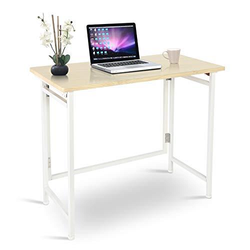 Mesa plegable de trabajo, mesa de oficina, mesa de ordenador