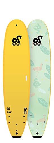 Ocean Storm Soft Top Back to School - Tabla de surf (20,32 cm), amarillo
