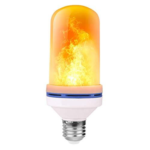 Flammen Lampe,Flamme Glühbirne,3 Beleuchtungsmodi Indoor/Outdoor dekorative Lichter für Halloween/Weihnachten (StyleB-1PCS)