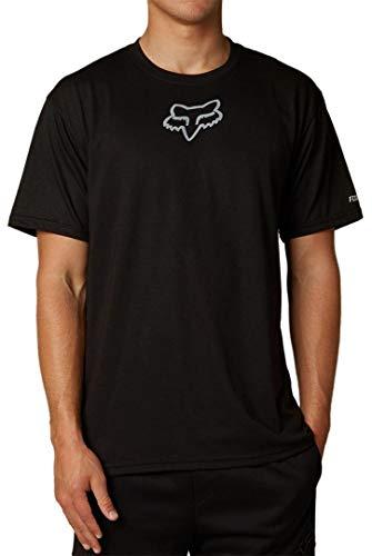 Fox Tournament T-Shirt à Manches Courtes pour Homme Noir Taille M