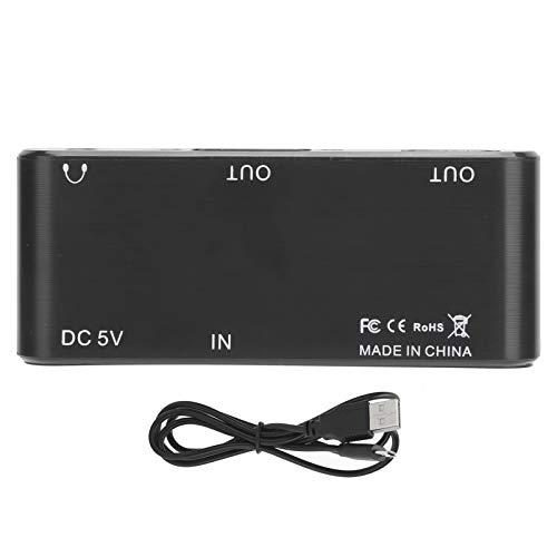 Adaptador de Audio y Video HDMI a VGA/Audio/HDMI Converter para DVD / PS3 / Laptop/Set Top Box, Adaptador de HDMI a Audio, Flexible, Plug and Play, Fácil de operar y Transportar.