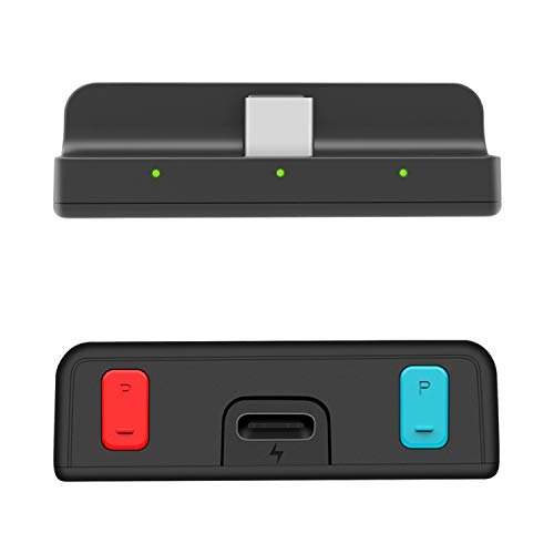 Free Pro Bluetooth 5.0 aptX Low Latency Transmitter Adapter for Nintendo Switch & Switch Lite, PD Fast Charging with Dual Audio Streaming, Compatible with Airpods,Beats,Bose,Sony