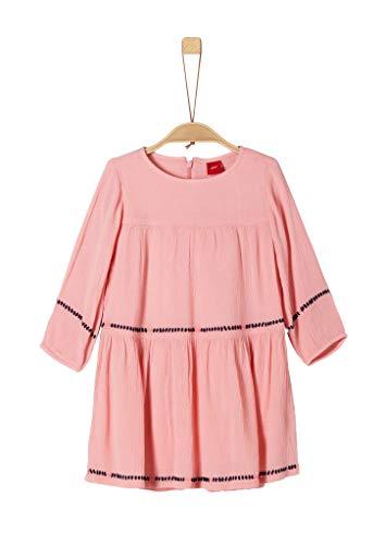 s.Oliver Mädchen 53.908.82.2981 Kleid, Rosa (Light Pink 4273), 128 (Herstellergröße: 128/REG)