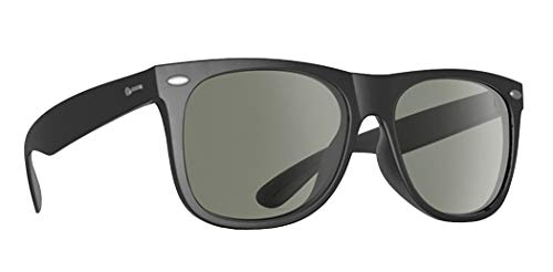 Dot Dash Kerfuffle Adult Sunglasses, Black/Retro Grey One Size