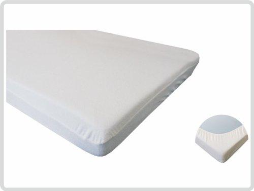 Hoeslaken badstof 100 cm x 200 cm kookvast, matrasbeschermhoes, hoeslaken, matrasbeschermer incontinentie vochtbescherming *topkwaliteit voor een topprijs*