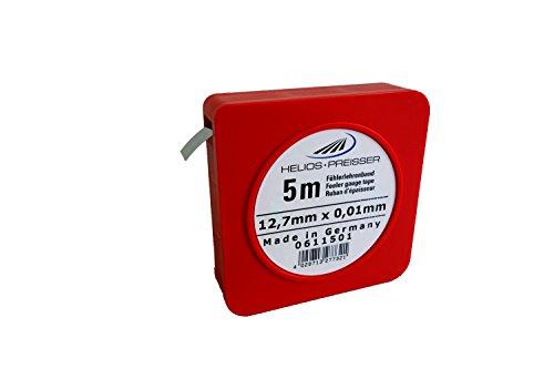 HELIOS-PREISSER 611501 Fühlerlehrenband Bandstärke 0,01 mm Breite 13 mm Länge 5 m
