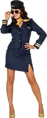 Wilbers & Wilbers Sexy Stewardesskostüm Stewardess Flugbegleiterin Kostüm