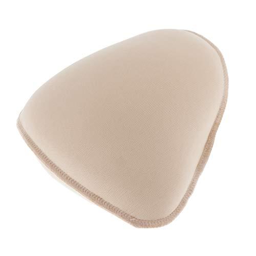 IPOTCH Prótesis Mamaria de Algodón Transpirable Forma de Pecho Artificial Seno Falso Inserto de Sujetador para Mastectomía Postoperatoria