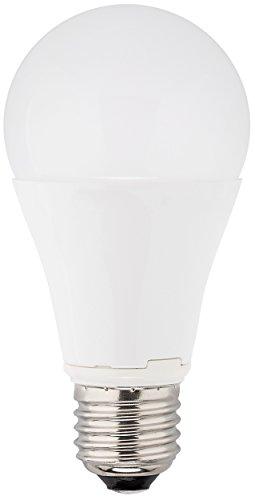MÜLLER-LICHT 400004 A+, LED Lampe Birnenform ersetzt 75 W, Plastik, 13 watts, E27, weiß, 12 x 6 x 6 cm dimmbar