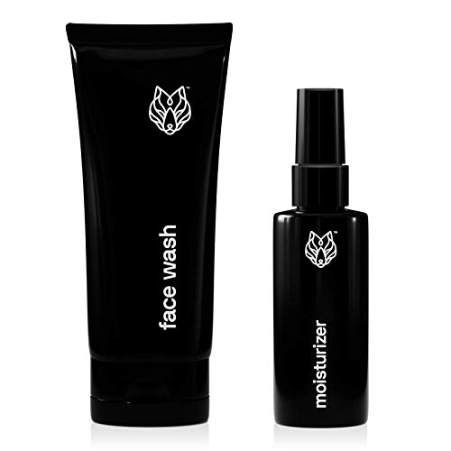 Black Wolf Nation Face Wash and Moisturizer for Oily Skin
