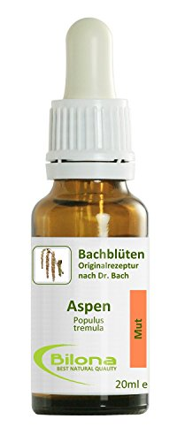 Joy Bachblüten, Essenz Nr. 2: Aspen; 20ml Stockbottle