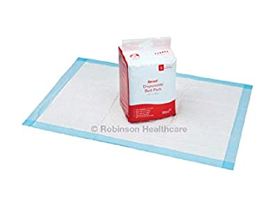 New - Readi Disposable Incontinence Bed Pads 60 x 90cm 1700ml Absorbency Pack of 25