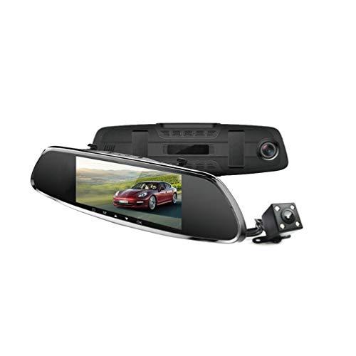 LW Rétroviseurs HD Dual Dash Cams avec Écran 7\