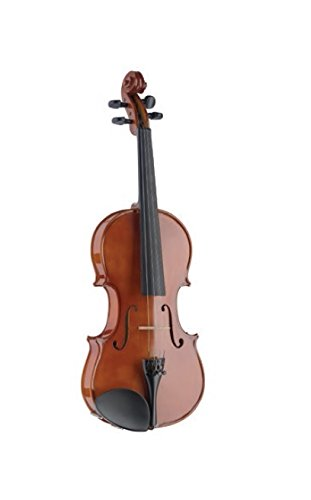 Stagg VN-1/2 L Solid Spruce Top 1/2-Size Violin with Maple Back and Sides - Natural