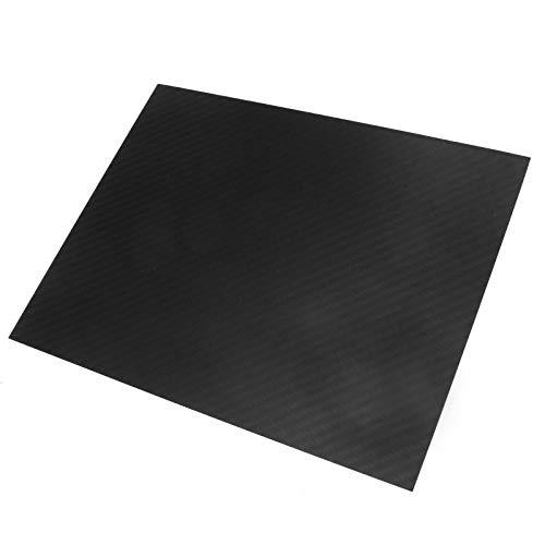 Carbonplatte 1,5 mm x 200 x 250m GFK Karbon Platte beidseitig Matt Kohlefaserplatte Karbon