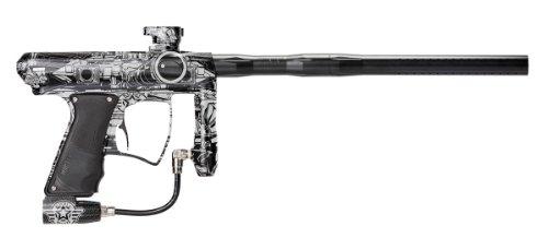MacDev 2012 Drone DX Paintball Gun w/ Militia 2.0 Laser Engraving - Black