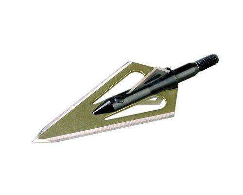 Stinger 4 Blade Arrow Broadhead (Pack of 3), 100-Grain