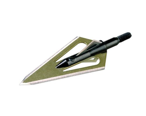 Stinger 4 Blade Arrow Broadhead (Pack of 3), 100-Grain