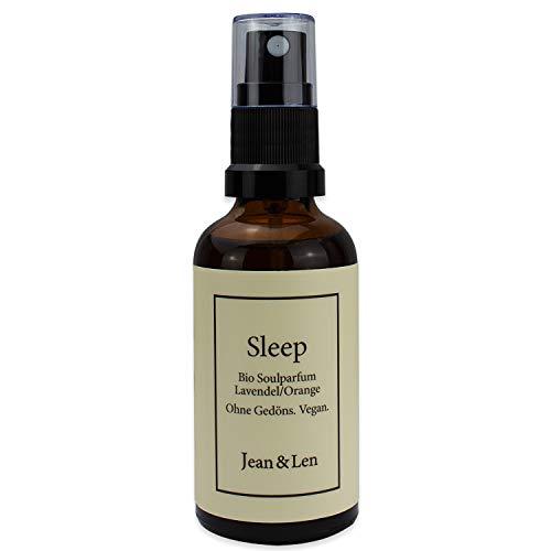 Jean & Len Soulspray Bio Sleep, Lavendel/Orange, für Männer und Frauen, 50 ml