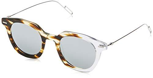 Dior DIORMASTER DC KRZ Gafas de sol, Marrón (Havana Cryst/Sl Silver), 47 para Hombre