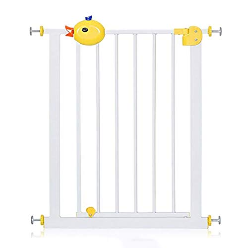 MKJYDM Puerta de Seguridad for niños Valla de Mascotas Puerta de Aislamiento Protectora Aumento de encriptación Ancho 66-74cm / 75-84cm Valla de Juegos para niños (Size : 66-74cm)